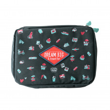 Pochette pour câbles - Dream big & travel far