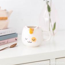 Mug animaux à corne - Catcorn