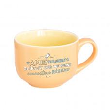 Mug - Amie toujours disponible, avec une excellente couverture réseau