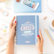 Pack Agenda annuel semainier classique + stylos
