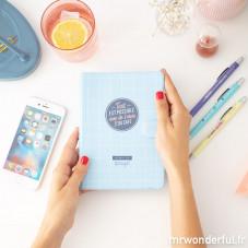 Pack agenda annuel semainier petit format + stylos