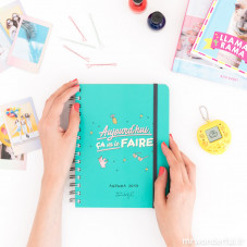 Pack agenda annuel semainier Sketch + stylos