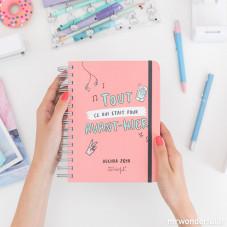 Pack agenda annuel journalier Sketch + stylos