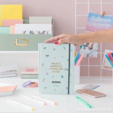 Pack agenda annuel bullet + stylos