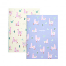 Set de 2 libretas - Llama Collection