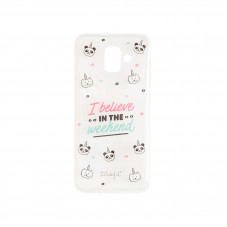 Coque pour Samsung A6 - I believe in the weekend