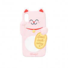 Coque pour iPhone X/XS Maneki-neko - Chance Collection