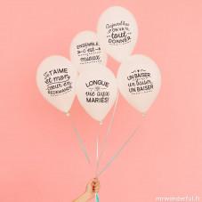 Ballons pour noces inoubliables (FR)