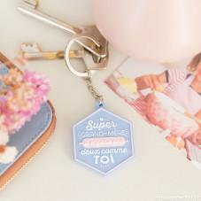 Porte clés - Super grand-mère, il n'y en a pas deux comme toi (FR)