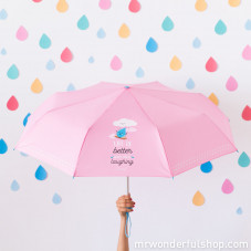 Parapluie moyen - Life is Better when you're laughing (ENG)