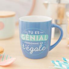 """Mug """"Tu es génial, personne ne t'égale"""" (FR)"""