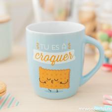 """Mug """"Tu es à croquer"""" (FR)"""
