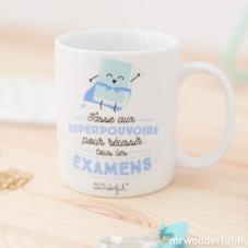 Mug - Aux superpouvoirs pour réussir tous les examens (FR)