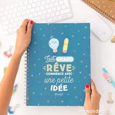 Cahier - Tout grand rêve commence avec une petite idée (FR)