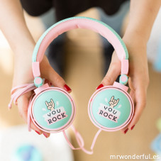 Casque audio wonder - You rock