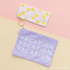 Lot de 2 pochettes  - Vacation