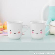 Lot de 2 tasses pour enfants - Fun
