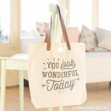 Tote bag - You look  wonderful today