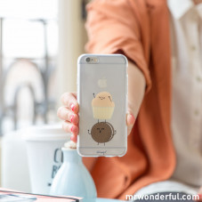 Coque transparente iPhone 6 - Muffin