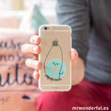 Coque transparente iPhone 6 - Donut