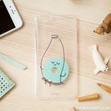 Coque transparente iPhone 6 Plus - Donut