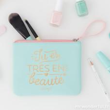 Trousse de toilette - Tu es très en beauté (FR)