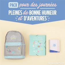 Pack pour des journées pleines de bonne humeur et d'aventures