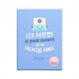 Cartes pour bébé - Les photos de ma première année