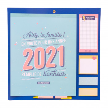 Calendrier familial 2021 Mr. Wonderful