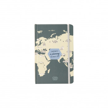Carnet de voyage - Happiness is planning the next trip