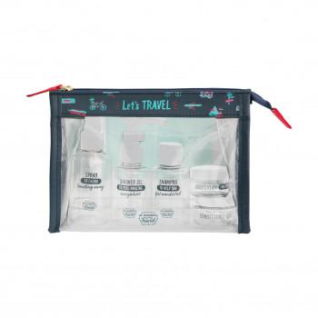 Trousse de toilette de voyage - Let's travel