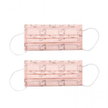 Pack de 2 mascarillas TNT Niño - Unicornio rosa