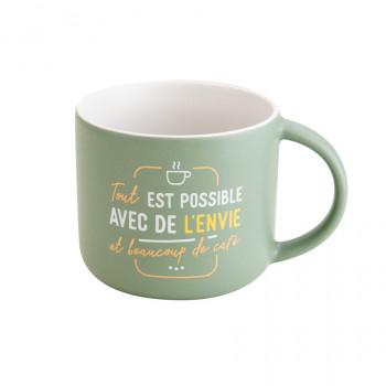 Mug - Tout est possible avec de l'envie et beaucoup de café