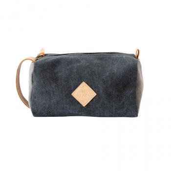 Blue vanity bag - I have big plans