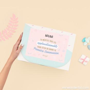 Coffret cadeau avec bijoux pour des petites filles qui brillent