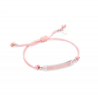Bracelet Wonderful Words rose - You're wonderful