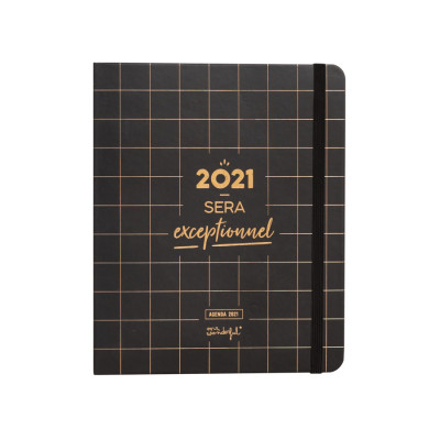 Agenda classique 2021 Semainier - 2021 sera exceptionnel
