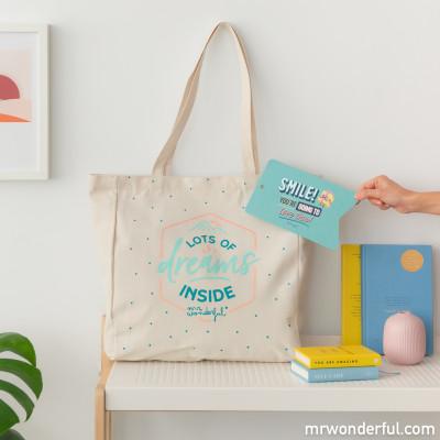 Tote bag - Lots of dreams inside