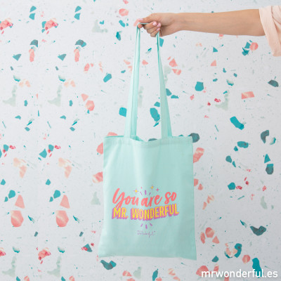 Sac en toile - You are so Mr. Wonderful