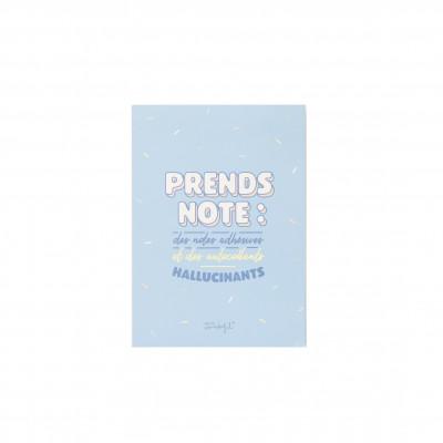 Carnet de notes adhésives et d'autocollants hallucinants (FR)