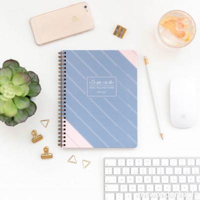 Planning hebdomadaire au format cahier - Ce que j'ai dit que j'allais faire (FR)