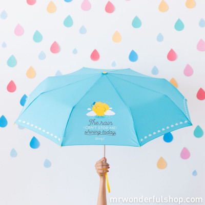 Parapluie moyen - The rain can't stop me shining today (ENG)