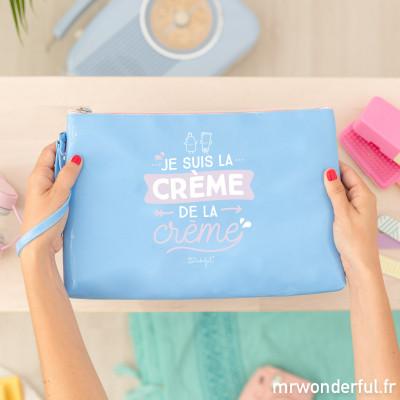 Trousse de toilette - Je suis la crème de la crème (FR)