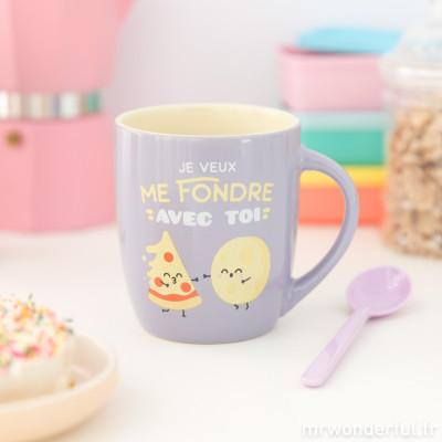 Mug - Je veux me fondre avec toi (FR)