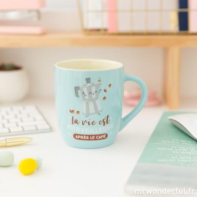 Mug - La vie est merveilleuse après le café (FR)