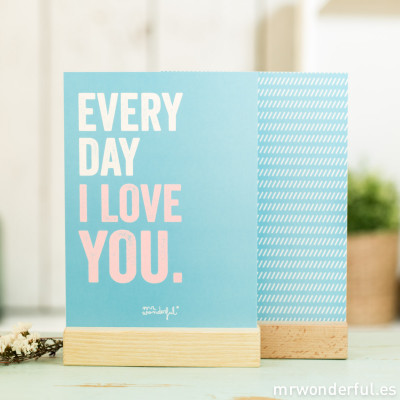 Affiche - Every Day I love you
