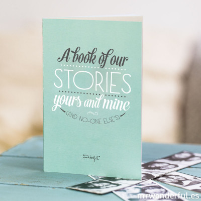 Livre - A book of our stories yours and mine and no-one else's (ENG)