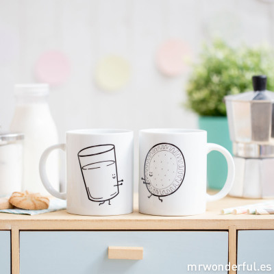 Lot de 2 mugs - Better together