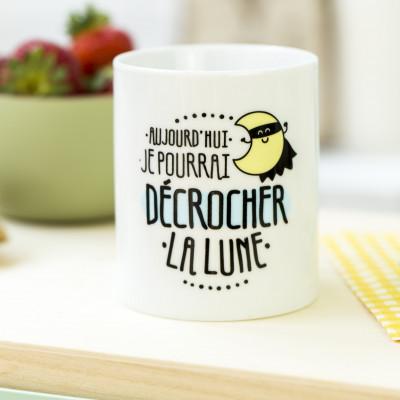 Mug - Aujourd'hui je pourrai décrocher la lune (FR)