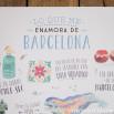 Affiche Lovely Streets - Lo que me enamora de Barcelona